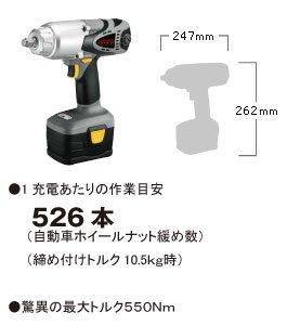 SHINANO:コードレスインパクトレンチ SI-200W