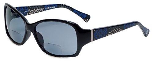 80238157e8 Vera Bradley Designer Bi-Focal Reading Sunglasses Willow in Canterberry  Cobalt +2.00