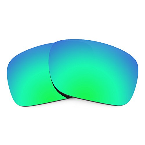 Ansi Class 3 Overalls - Revant Polarized Replacement Lenses for Oakley Holbrook Emerald Green MirrorShield