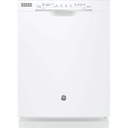 GE GDF520PGJWW 24″ Built In Full Console Dishwasher with 4 Wash Cycles, in White