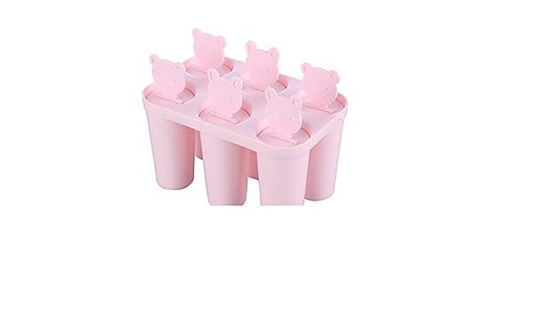 Compra Molde de hielo del oso de peluche diy/molde de helado de paleta de dibujos animados-A en Amazon.es