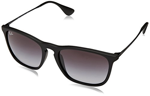 Ray-Ban Unisex RB4187 622/8G Chris Sunglasses Rubber - Chris Ban