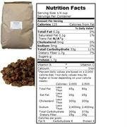 Bulk Dried Fruit Natural Thompson Raisins 30 Lbs by Dried Fruit