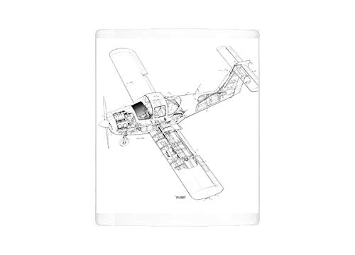 Mug of Piper PA-38 Tomahawk Cutaway Drawing (1569687), used for sale  Delivered anywhere in USA