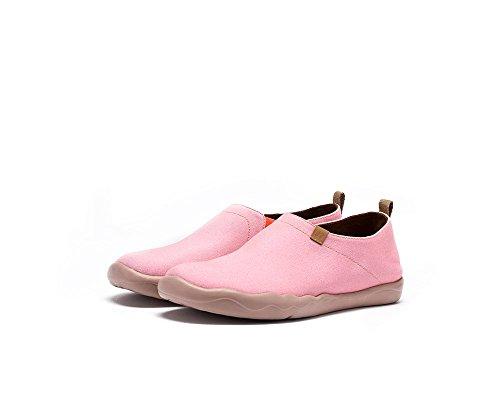 UIN La crépuscule Chaussures sportives de toiles peintes rose pour femme