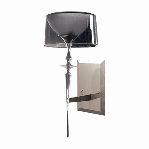 DVI DVP6501NI Library Wall Sconce, Nickel