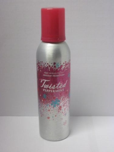 Bath and Body Works New for 2013 Twisted Peppermint Whipped Shimmer Body Cream 5.3 ()