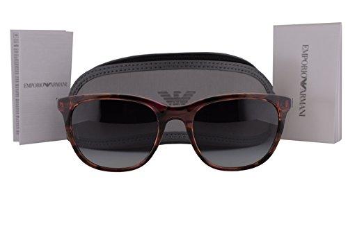 Emporio Armani EA4086 Sunglasses Pink Brown Havana w/Gray Gradient Lens 55538G EA - Armani Sunglasses Emporio Ea2036