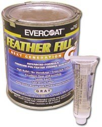 Evercoat Featherfill G2 Primer Gray Quart 4333063885
