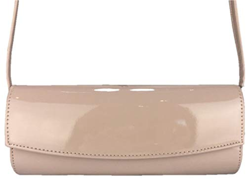 Pochettes Dorothy Beige Structured Clutch Perkins nude qxw8106x