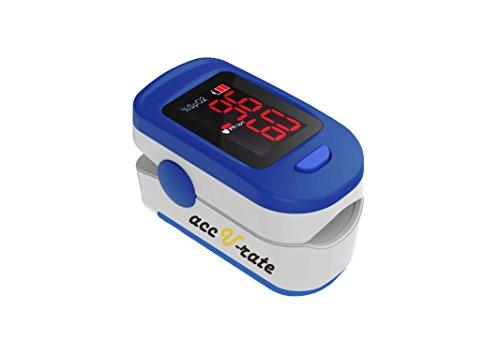 Acc U Rate 400B Fingertip Pulse Oximeter Blood
