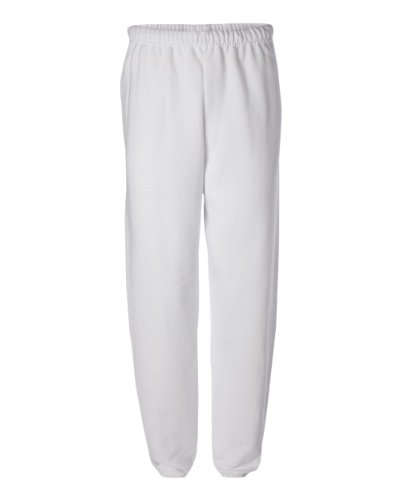 Adult Soft and Cozy Sweatpants,White,Large (White Hanes Sweatpants)