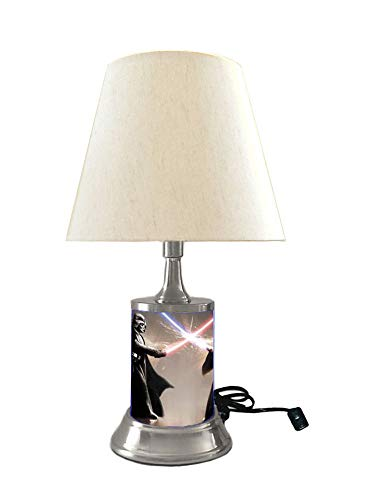 Star Wars Darth Vader and OBI Wan Lamp with Shade