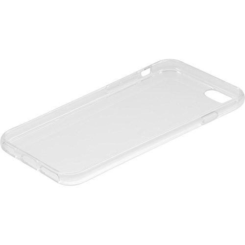 PhoneNatic Case für Apple iPhone 6 Plus / 6s Plus Hülle Silikon Crystal Clear transparent Cover iPhone 6 Plus / 6s Plus Tasche + 2 Schutzfolien