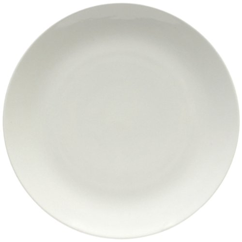 Maxwell and Williams Basics Coupe Dinner Plate, 8-Inch, White