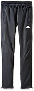 adidas Youth Soccer Tiro 17 Pants, Medium - Dark Grey/White