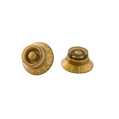 Gibson Gear PRHK-020 top hat knobs (4) / gold from Gibson Gear