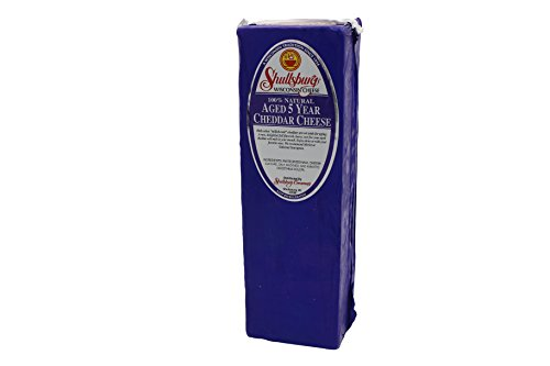 (Shullsburg Creamery - 5 Year Aged Cheddar Cheese - 5 Pound Loaf)