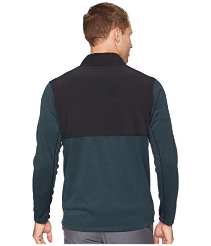 Nike Men's Dry Top Half Zip core Golf Top (Black Midnight Spruce, Small) by Nike (Image #3)