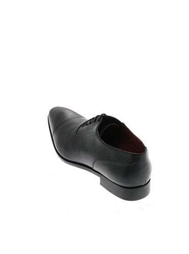 Pierre Cardin - Zapatos de cordones de Piel para hombre negro negro negro