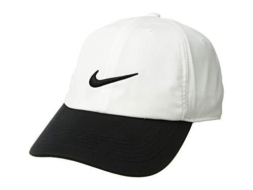 Nike Men's AeroBill Heritage86 Adjustable Hat (White/Black, OneSize)