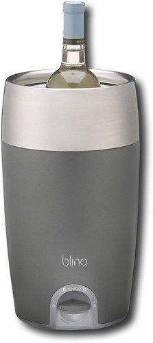 blinQ QWC014 Wine Chiller, Gray