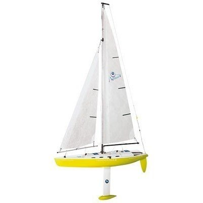 Amazon com: Nirvana Radio Control Model Sailboat - Yellow