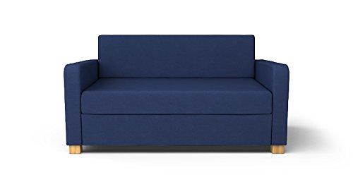 Tremendous Amazon Com Custom Made Slipcovers For Solsta Sofa Bed Navy Download Free Architecture Designs Lectubocepmadebymaigaardcom