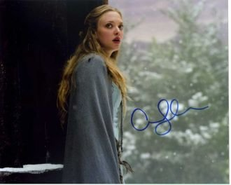 Amanda Seyfried RED RIDING HOOD In Person Autographed - Seyfried Hood Amanda Riding In Red