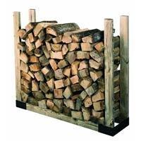 Rutland Stack-N-Store Adjustable Log Rack Kit by Hy-C ()