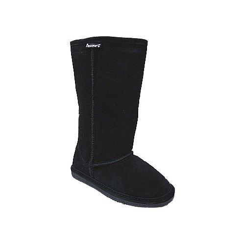 BEARPAW  Emma Tall Youth Boot,Black,1 M US Little Kid