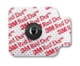 15554320 Electrode Red Dot 3/Pak 200Pk Per Case sold as Case Pt# 2670-3 by 3M Medical Products