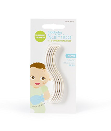 Fridababy NailFrida The S-Curved Nail Files (5 Pack)