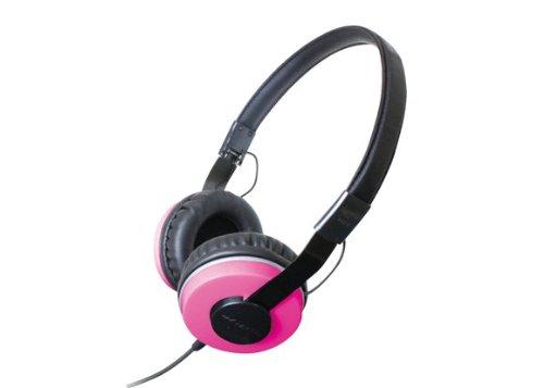 Compact Folding Stereo - Zumreed ZHP-500 Compact Foldable Stereo Headphones, Pink by Zumreed