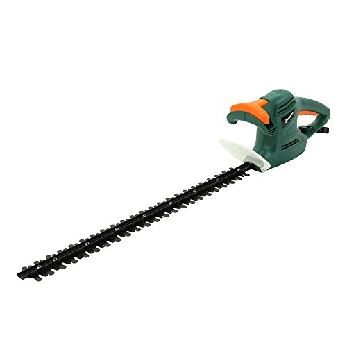 DOEWORKS 4.5AMP Corded Electric Hedge Trimmer with 24'' Dual-Action Steel Blade by DOEWORKS