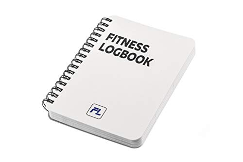 Fitness Logbook Pocket: Undated Workout Journal - 4 x 6 inches - Thick Paper, Durable Laminated Cover, Round Corners, Sturdy Binding - Stylish, Minimalistic and Easy-to-Use Gym Log Book