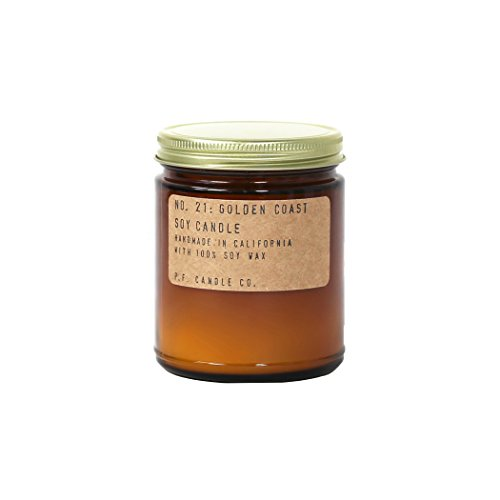 P.F. Candle Co.. - No. 21: Golden Coast Soy Candle (3.5 oz) ()