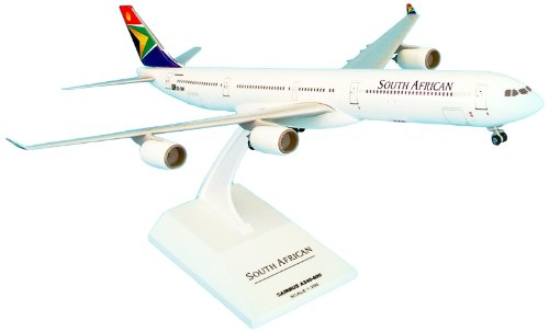 - Daron Skymarks South African A340-600 Model Kit with Gear (1/200 Scale)