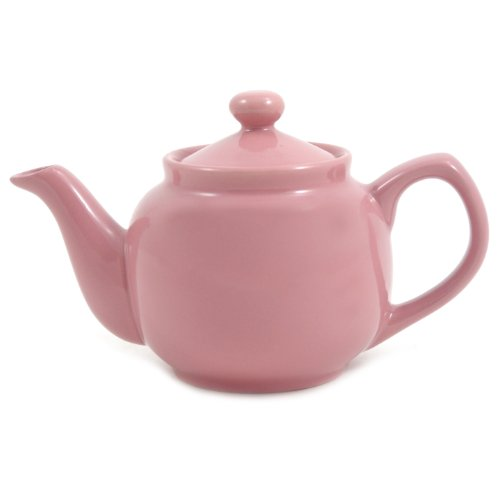 Pink Rose Classic 2 Cup Ceramic Teapot (Ceramic Teapot Small compare prices)