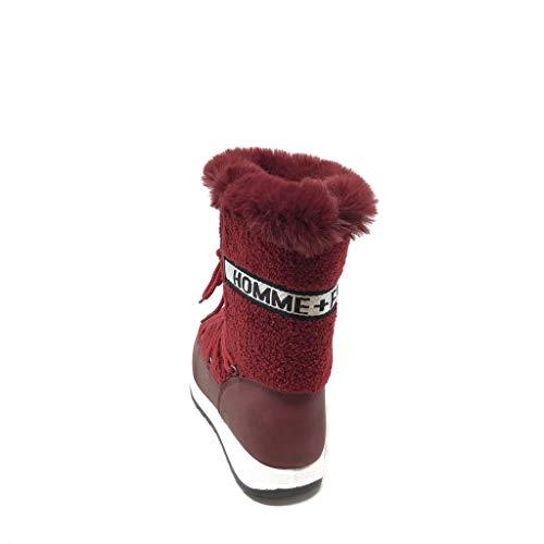 Sneaker Scarpe Tacco Finta Neve 2 Piatto Foderato Donna Molto Da Angkorly 5 Pelliccia Dolce Di Moda Cm Bordo Chic Stivali Sporty SEdwnqg