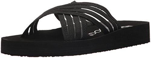 Moon Sandal Fabric Dog Women's Black Rocket Slide Zero 1waBSxvEq