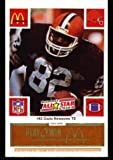img - for McDonald's NFL Play & Win 1986 Football Cards (All Star Gold Tab) Ozzie Newsome singles 19 Cards (tabs still attached and unscratched) book / textbook / text book