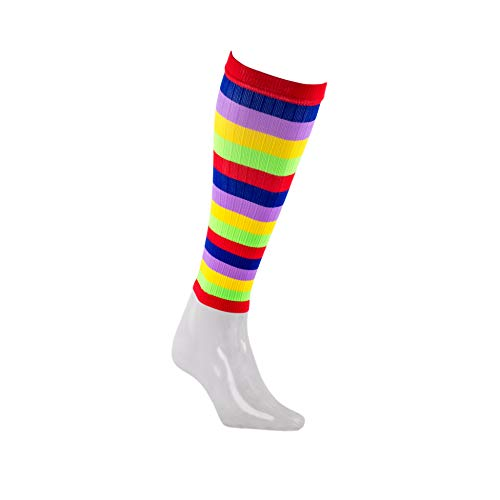 PRO Compression Calf Compression Sleeve for Calf Pain Relief | Calf Guard for Running, Cycling, Nurses, and Sports (Small/Medium, Multicolor Stripe)