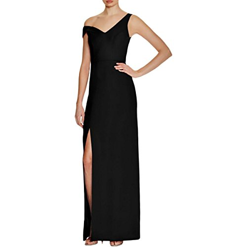 Abs Evening Dresses (ABS Collection Womens Side Slit Sheath Evening Dress Black 4)