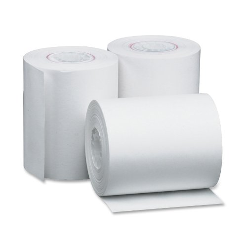 PM Company Perfection POS/Black Image Thermal Rolls, 2.25 Inch x 80 Feet, White, 50 per Carton (05208) ()