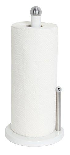 (Home Basics Paper Towel Holder (White))