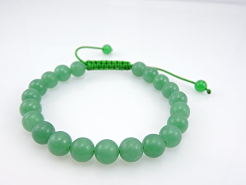 Tibetan Mala Green Jade Wrist Mala/ Bracelet for Meditation - Jade Bead Beads Bracelet