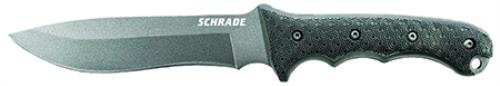 Schrade-SCHF9NCP-Extreme-Survival-Large-Fixed-8Cr13Mov-High-Carbon-Stainless-Steel-Blade-Black-TPE-Handle-Sheath-Clam-Packaging
