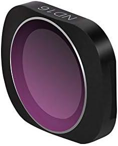 DJI OSMO POCKET ND16 KuGi NDレンズフィルター 減光フィルター レンズ保護 光学ガラス 専用 撮影 レンズ保護 広角レンズに適 多層加工 鮮明度 薄枠 撥水 防汚 撥油性 光量調節 ND16 DJI OSMO POCKET対応