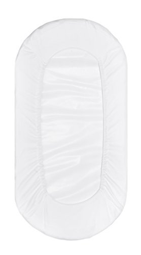 Premium Bamboo Bassinet Sheet 2 Pack, Designed for Delta Children Sweet Beginnings Bassinet, Extremely Soft & Breathable,White by Luxuriously Soft-NEW YORK